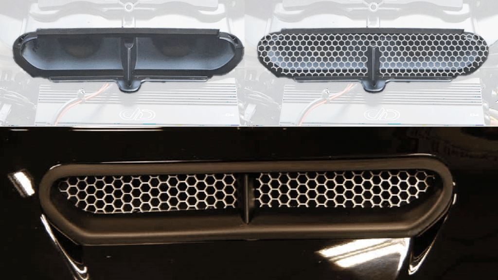 Batwing SPLITSCREEN-Vent Screen for HARLEY-DAVIDSON STREET GLIDE ELECTRA GLIDE ULTRA LIMITED TRI GLIDE motorcycles