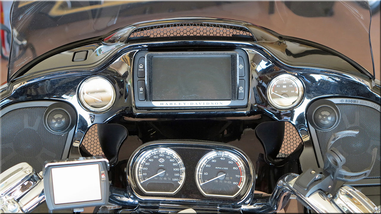 Road Glide Vent Screens