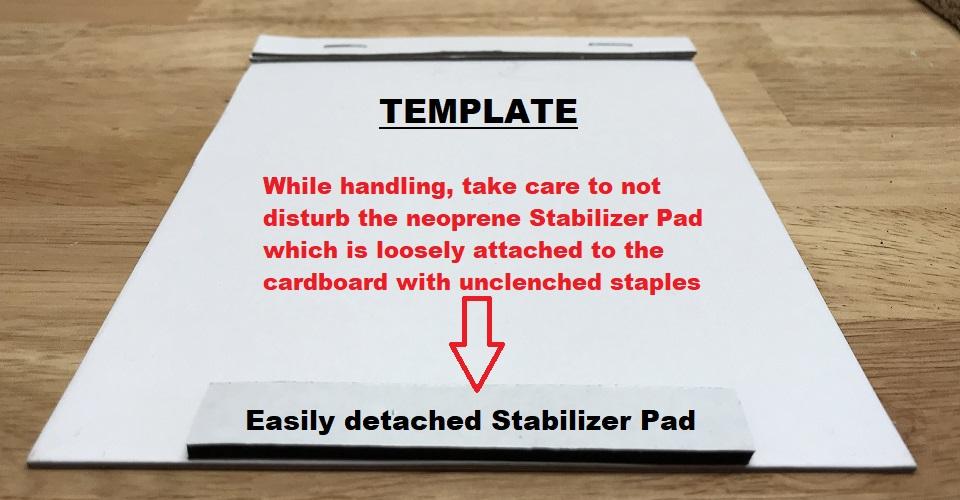 Neoprene Stabilizer Pad
